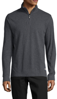 Brooks Brothers Half Zip Stand Collar Sweater