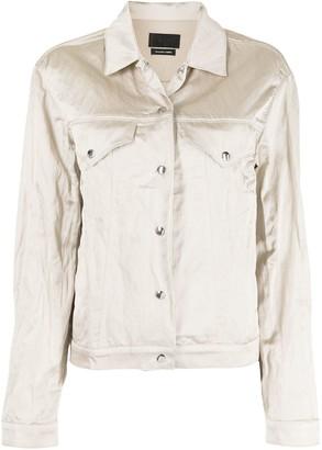 RtA Metallic-Finish Jacket