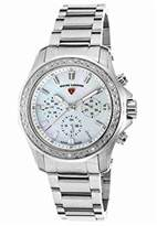 Swiss Legend Women's 'Islander' Swiss Quartz Stainless Steel Casual Watch, Color:Silver-Toned (Model: 16201SM-22)