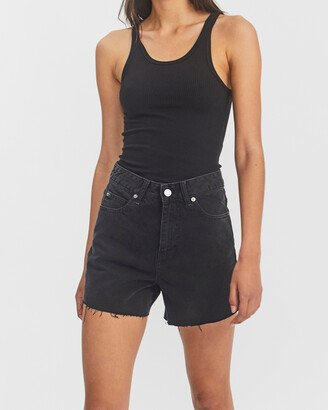 Dr. Denim Women's Black Denim - Nora Shorts - Size One Size, 24 at The Iconic