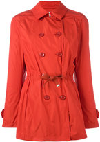Herno double-breasted coat - women - Cotton/Polyester/Acetate - 46