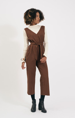 Shio Walnut Jumpsuit - S/M | walnut - Walnut