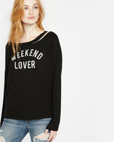 Express one eleven weekend lover sweatshirt