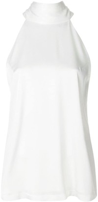 Galvan Sash Halter Neck Top