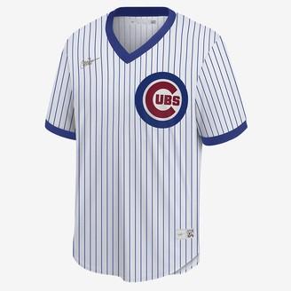 Nike Men's Cooperstown Baseball Jersey MLB Chicago Cubs (Ernie Banks)