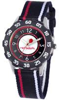 Red Balloon Kids' W000349 Red Balloon Sporty Boy Tween Stainless Steel Bezel Sport Stripped Strap Watch