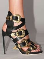 DSQUARED2 120mm Lvr Exclusive Leather Sandals