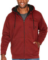 Zoo York Midweight Hooded Fleece Jacket - Big and Tall