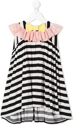 Wauw Capow Pretty Pretty striped dress