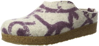 Haflinger Grizzly Onda Unisex Adults Open Back Slippers