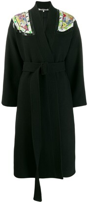 Stella McCartney Shoulder Patch Coat