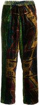 Pierre Louis Mascia Pierre-Louis Mascia - wide leg trousers