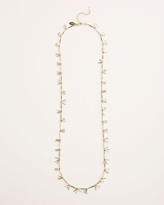 Chico's Neutral Single-Strand Necklace