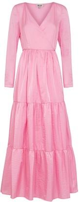 Baum und Pferdgarten Aymeline Pink Maxi Wrap Dress