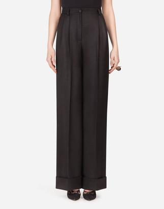 Dolce & Gabbana Gabardine Flared Pants