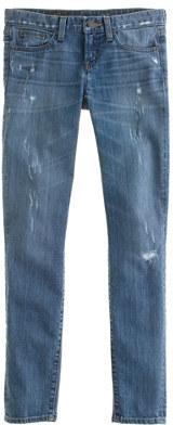 J.Crew Toothpick jean in distressed Cone Denim®