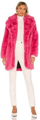 Apparis Sasha Faux Fur Jacket