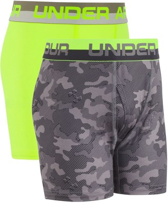 Under Armour Boys 6-20 2-Pack Performance Boxer Briefs