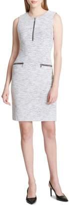 Calvin Klein Collection Jacquard Sheath Dress