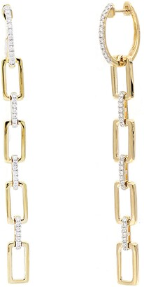 Bony Levy Varda Long Multi Link Earrings