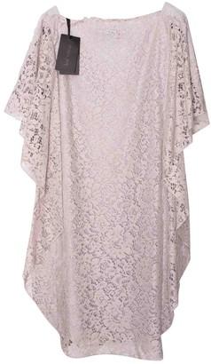 Patrizia Pepe Grey Lace Dress for Women