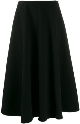 Courreges Disk midi skirt