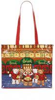 Harrods Christmas Bear Shoulder Bag