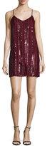 MLV Blake Sleeveless Embellished Dress, Oxblood