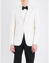 Armani Collezioni Slim-fit Wool-blend Tuxedo Jacket