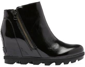 Sorel Joan of Arctic II Patent Leather Wedge Boots