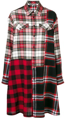 McQ tartan shirt dress