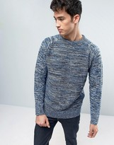Brave Soul Twist Knitted Sweater