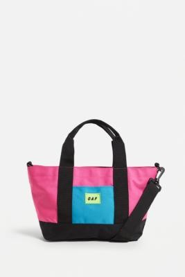 Lazy Oaf Panelled Tote Bag - Assorted ALL at Urban Outfitters
