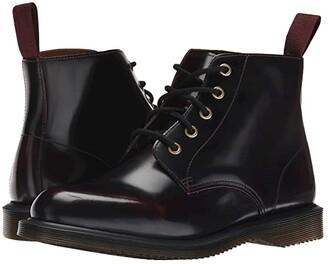 Dr. Martens Emmeline (Black Polished Smooth) Women's Lace-up Boots