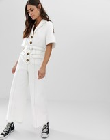 The East Order Dex jumpsuit with contrast stitching