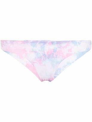 Frankie's Bikinis Ryan tie-dye bikini bottoms