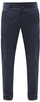 Paul Smith Cotton-twill Slim-leg Chino Trousers - Navy