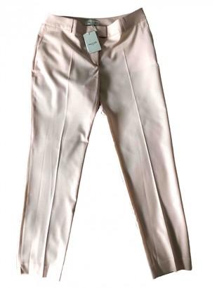Paul & Joe Pink Wool Trousers for Women