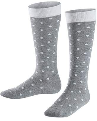 Falke Kids Glitter Dot Knee-Highs - 84% Cotton,(Manufacturer size: 23-26), 1 Pair