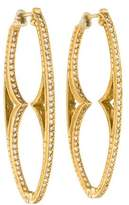 Loree Rodkin 18K Diamond Inside-Out Hoop Earrings
