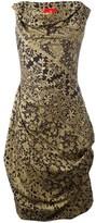 Vivienne Westwood Women's Brown/black Silk Dress.