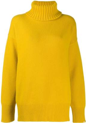 Extreme Cashmere No20 oversized roll neck jumper