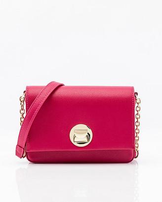 Le Château Mini Faux Leather Crossbody Bag