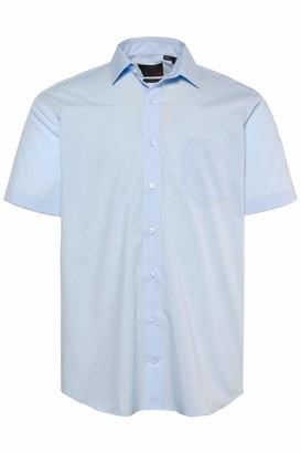 JP 1880 Men's Big & Tall Easy Care Short Sleeve Shirt White 8XL 713990 20-8XL