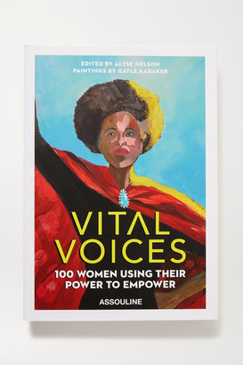 Assouline Vital Voices By Alyse Nelson And Gayle Kabaker Hardcover Book - Red