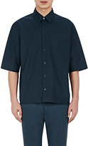Marni MEN'S SHORT-SLEEVE SHIRT-NAVY SIZE 50 EU