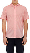 Barneys New York MEN'S COTTON VOILE SHIRT