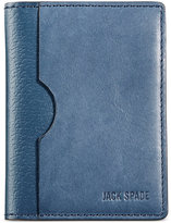 Jack Spade Men's Grant Leather Vertical Flap Wallet