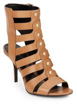 Kenneth Cole Thatford Leather Gladiator Sandals
