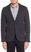 Zachary Prell Men's Trim Fit Knit Sport Coat